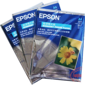 Giấy in ảnh EPSON A4 230 Gsm 1 mặt bóng